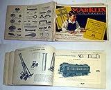 Bestell.Nr. 15658 Märklin Metallbaukasten. Anleitungsbuch Nr. 71 mit Vorlagen für über 200 unterhaltende und lehrreiche Modelle zu den Märklin-Baukasten No. 1-6