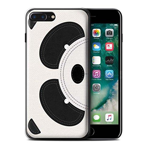 Stuff4 Hülle / Case für Apple iPhone SE / Pinguin Muster / Genähte Tier Effekt Kollektion Panda