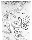 Santex Themenparty Musik Musik Tischläufer/Tischband