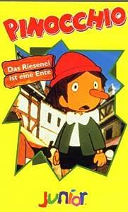 Pinocchio Das Riesenei Ist Eine Ente Vhs Saito Hiroshi Amazon De Vhs