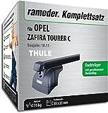 Rameder Komplettsatz, Dachträger SquareBar für OPEL Zafira Tourer C (116163-09717-1)