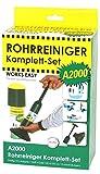 Pur Clean purclean-Komplettset Rohrreiniger A2000, Netzteil WC, Griff, 125ml, 3Stück