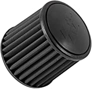K&N Universal Clamp-On Air Filter: High Performance, Premium, Replacement Engine Filter: Flange Diameter: