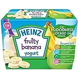 Heinz Fruité Yogourt Banane 4-36 Mnths 4 X 100G - Paquet de 2