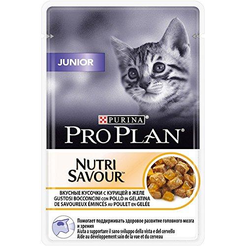 PRO PLAN CAT Cat Nutrisavour Jun.Pollo Alimenti Gatto Umido Premium