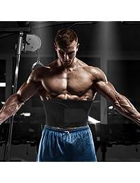 ADA Sweat Waist Trimmer Belt/ADA Sweat Belly Tummy Yoga Wrap Exercise Body Slim Sweat Belt Free Size