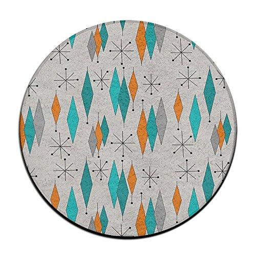 Myrtle Beach Pattern Flanell Mikrofaser Badezimmer Dusche Akzent Teppich - rutschfeste weiche saugfähige Badezimmer Küche Bodenmatte Teppich (23,6