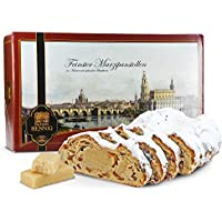 1000 g handgemachter Marzipanstollen im Geschenkkarton Motiv – Panorama Dresden (1000 Gramm)