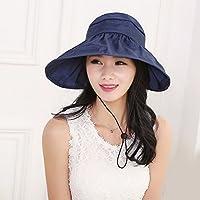 PLKOI SombrerosLa Sra. verano sombreros sombrillaLa Sra. verano anti-? SombrerosGorras de playaPliegue cool cap, son códigoAjustableUn