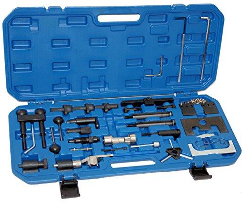 Zahnriemen wechsel Werkzeug Nockenwellen Kurbelwellen Arretierwerkzeug Motor Einstellwerkzeug für VAG VW Audi Seat Skoda 1.9 2.0 2.5 TDI 1107