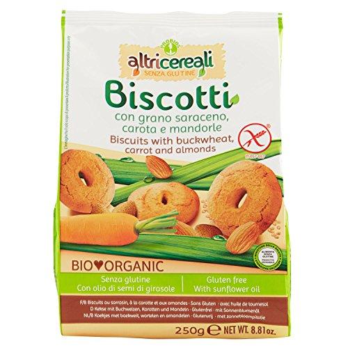 Probios biscotti grano saraceno con carota e mandorle - 5 pezzi da 250 g [1250 g]