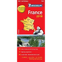 France 2018 - Michelin National Map 721 (Michelin National Maps)