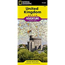 United Kingdom: Travel Maps International Adventure Map (National Geographic Adventure Travel Maps)