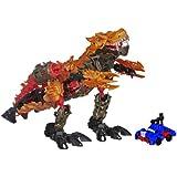 Transformers Age of Extinction Construct-Bots Dinofire Grimlock and Optimus Prime Set