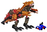 Hasbro Transformers Ära des Untergangs Konstruktions-Roboter Dinofire Grimlock und Optimus Prime Set
