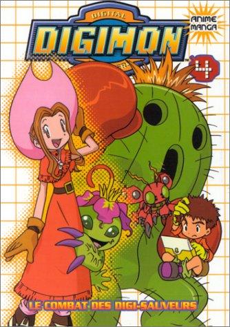Digimon Tome 4 : Le combat des digi-sauveurs par Akiyoshi Hongo