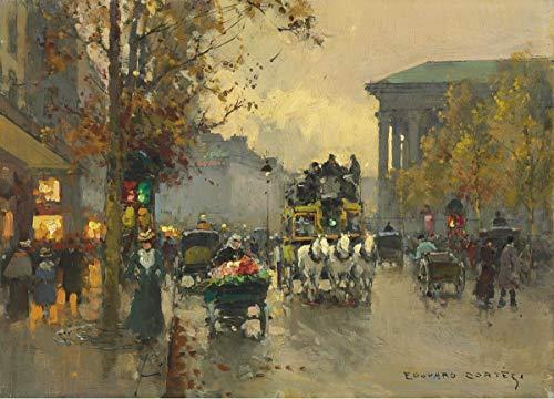 Edouard Cortes Giclée Impression sur Toile-De célèbres...