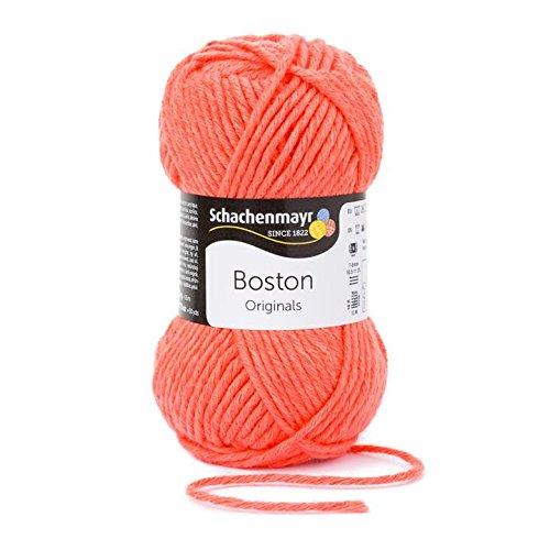 Schachenmayr  Boston 9807412-00133 koralle Handstrickgarn (Die Maschine Bambus-sticks)