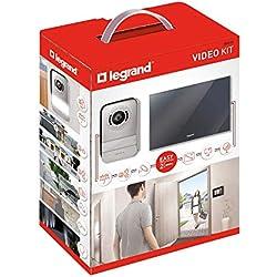 Legrand LEG369220 - Kit ouverture portier avec écran miroir 7'' - Interphone visiophone- 369220