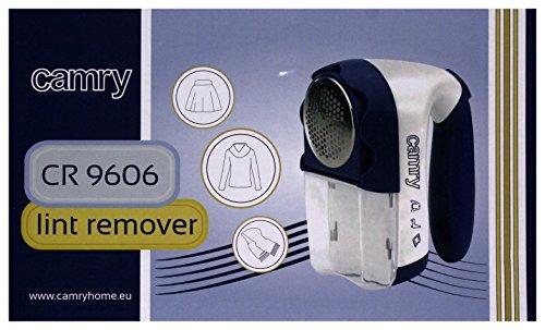 Camry CR-9606 - Quitapelusas a pilas o eléctrico con cuchillas de acero inoxidable