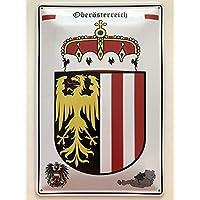 Salzburg Österreich Blechschild 30 X 20 cm Wappen