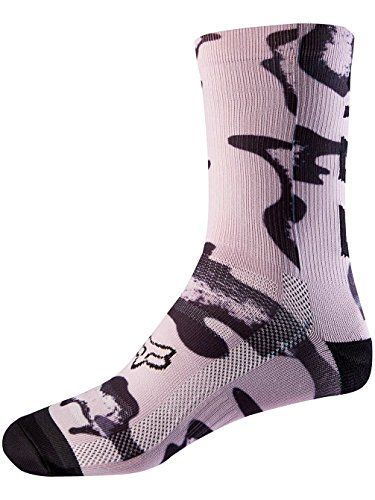 Fox Womens 8 Print Sock, Lilac, Größe OS