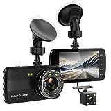 Arztu Full HD 1080P Dashcam Autokamera Video Recorder mit 170° Weitwinkelobjektiv, 4 Zoll LCD-Bildschirm, WDR, Bewegungserkennung, Parkmonitor, Loop-Aufnahme, Nachtsicht und G-Sensor