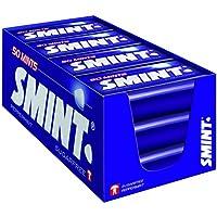 SMINT Mints Peppermint   12 Metall-Dosen mit Pfefferminze-Pastillen   Zuckerfreie Zahnpflege