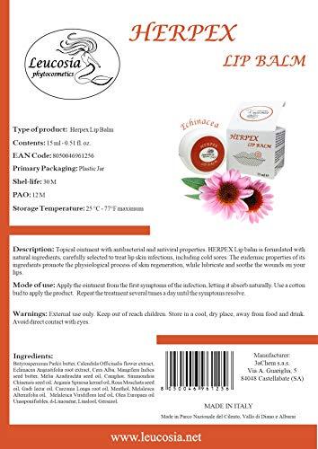 Zoom IMG-2 herpex lip balm unguento 15