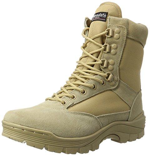 Mil-Tec Tactical Side Zip Botas Khaki tamaño 7 UK / 8 US