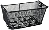 Fischer Einkaufskorb, hinten Klemmbefestigung, schwarz