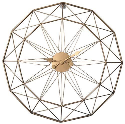 LVPY Wanduhr Vintage, Durchmesser 60cm Moderne Dekorative Silent Non-tickende, Wohnzimmer Büro Wand-Deko Uhr (Uhr Vintage Wand)