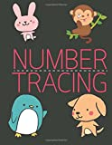 Number Tracing: Learning Number 0 to 20; Handwriting Practice Book for Kids Age 3-5 Year; Alphabet Writing Practice: Volume 2