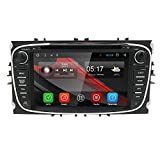 hizpo® 7 inch Android 7.1 Car radio 2 DIN for Ford Focus mondeo S-Max Galaxy Support DAB GPS navigatie on the FM Radio SD USB DVR 1080p Can-Bus obd2 3 G WIFI