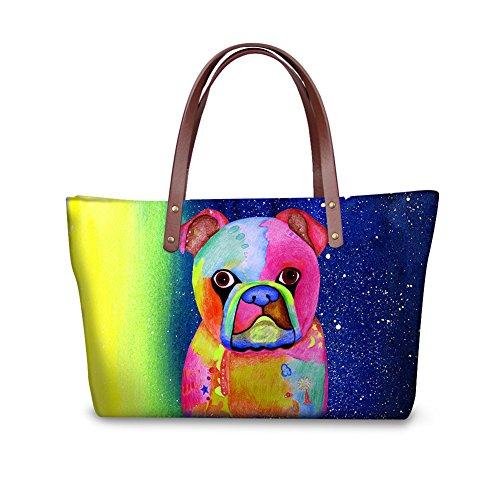 showudesigns, Borsa tote donna Multicolore color 1 color 2