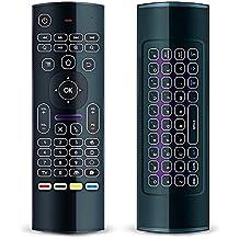 NewTech® retroiluminado teclado inalámbrico Mini Fly Air Mouse MX3Pro ratón para android Kodi tv box PC