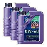3x LIQUI MOLY 1360 Synthoil Energy 0W-40 Motoröl Vollsynthetisch 1L
