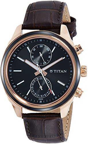 Titan Neo Analog Blue Dial Men's Watch-1733KL03
