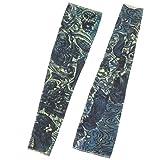 DealMux Nylon-Schädel-Muster im Freien Stretchy Kochen Jogging Sleeve Arm Oversleeve 2ST