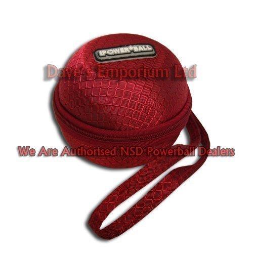 Powerball Transporttasche mit Gurt, rot