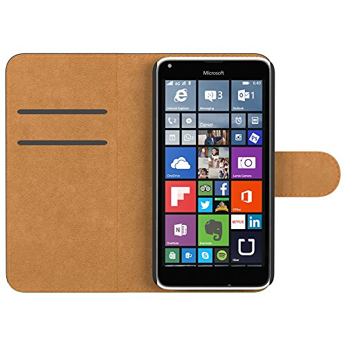 Ultra Slim Cover für Nokia Lumia 650 Schutz Hülle TPU Case Schutzhülle Silikon Tasche Dünn Transparent Rot (Book)
