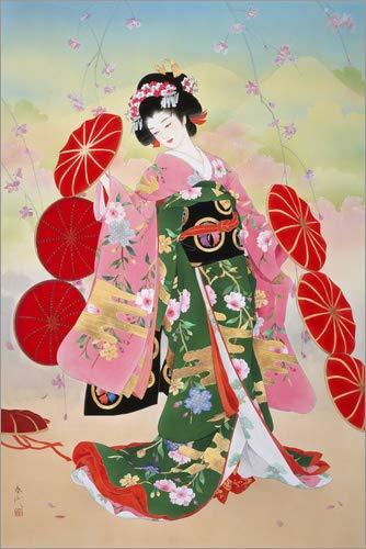 Posterlounge Cuadro Sobre Lienzo 120 x 180 cm: Hanako de Haruyo Morita/MGL Licensing - Cuadro Terminado, Cuadro Sobre Bastidor, lámina terminada Sobre Lienzo auténtico, impresión en Lienzo