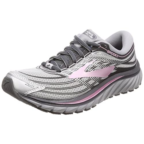 51TCjsRYEKL. SS500  - Brooks Women's Glycerin 15 Silver/Grey/Rose 6.5 B US