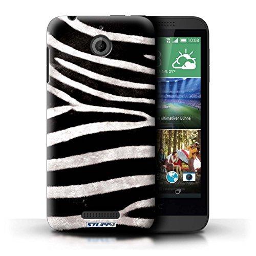 Kobalt® Imprimé Etui / Coque pour HTC Desire 510 / Loup conception / Série Motif Fourrure Animale Zèbre