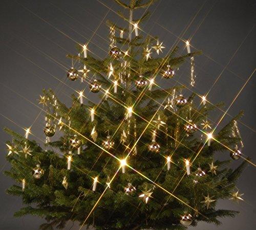 sanva 10/20/30/40unidades RGB & Blanco Cálido Luz LED Velas Velas de Navidad [Upgrade Versión 2017con temporizador, RGB colores y blanco cálido mando a distancia] Agua Densidad velas sin llama velas de Navidad con luces para árbol de Navidad, decoración de Navidad, Cumpleaños, boda, fiesta, Fiesta Día