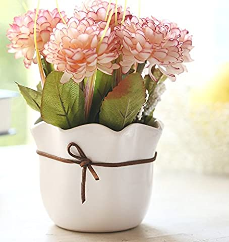 DSAAA Fälschung Blumen Die schöne Künstliche Blumen Silk Flower Kit