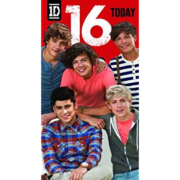 One Direction Age 16 Birthday Greeting Card Amazon Toys Games