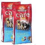 MERA Dog 2 x 12,5 kg CARE Junior 2 Welpenfutter für junge Hunde grosser Rassen