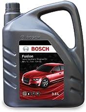 Bosch Fusion API SL SAE 5W 30 Semi Synthetic Engine Oil for Passenger Cars (3.5 L)