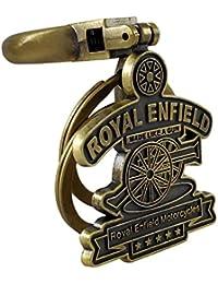 VillageTiger Royal Enfield Classic Bullet Bike Stylish Brass Metal Keychains 6f5e6a02df